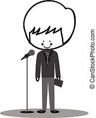 Doodle Host Announcer