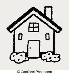 doodle house
