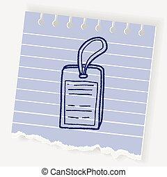 doodle id card