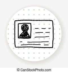 doodle, id karta