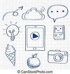 Doodle idea object
