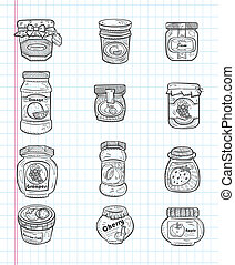 doodle jam icons