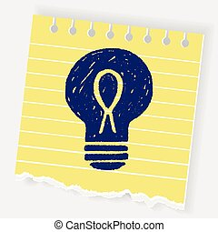 Doodle Light bulb