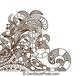 doodle line art design