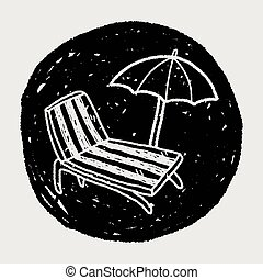doodle Lounge chair