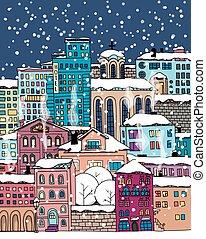 doodle, miasto