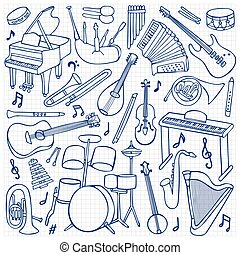 Doodle Music Instruments