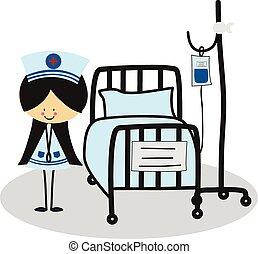 Doodle Nurse - Full Color