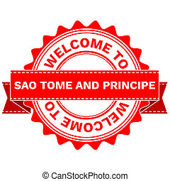 Doodle of WELCOME TO COUNTRY SAO TOME AND PRINCIPE . JPEG ....