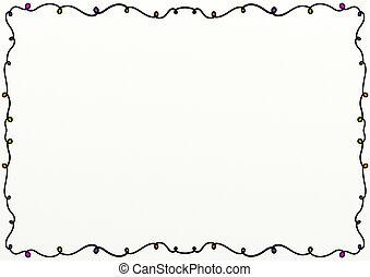 Doodle Page Border Design
