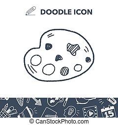 doodle, palet