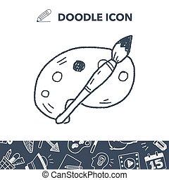 doodle palette brush