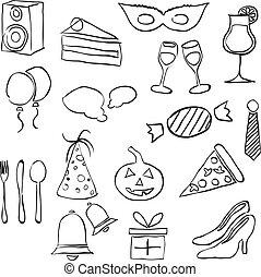 doodle party images