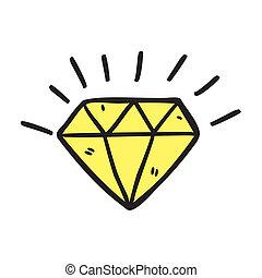 doodle, pedra preciosa