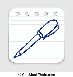 Doodle Pen icon.