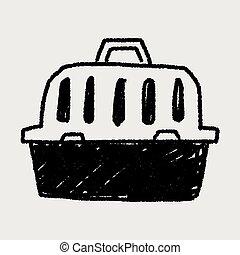 doodle pet carrier