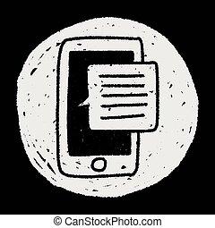 doodle phone speech