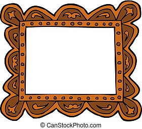 Doodle picture frame