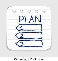 Doodle Plan icon.