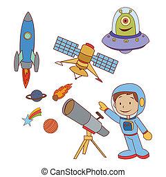 Doodle Planet Space set