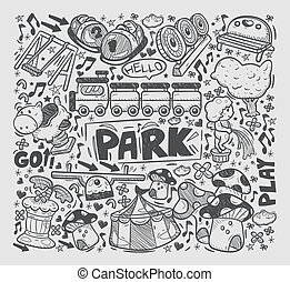 doodle playground element