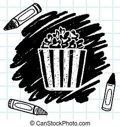 Doodle Popcorn