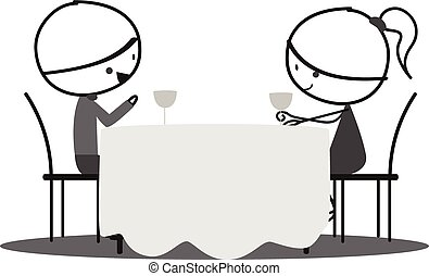 romantic date clipart and stock illustrations 51 391 romantic date rh canstockphoto com data clip art free date clipart for each day