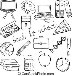 doodle school images