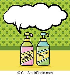 doodle, shampoo