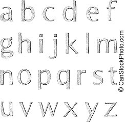 Doodle small letters