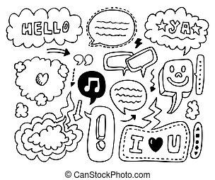 doodle speech element