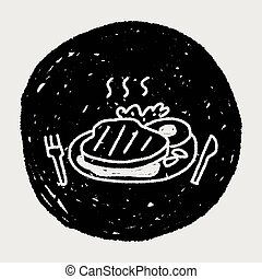 doodle steak