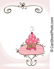 doodle sweet wedding cake