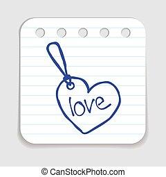 Doodle Tag icon.