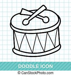 doodle, tambor