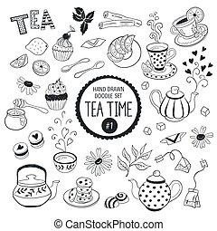 Doodle tea time