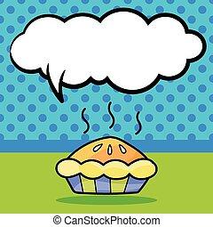 doodle, torta