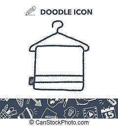 doodle towel