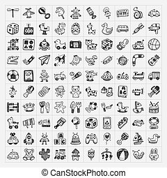 doodle toy icons