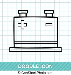 doodle, transformador, poder