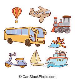 Doodle Transportation Set