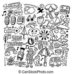 doodle travel  - doodle travel