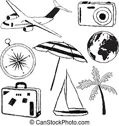 doodle travel pictures