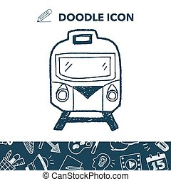 doodle, trem