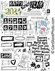 doodle universal calendar