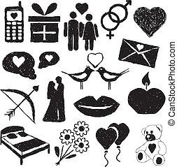 doodle valentine images