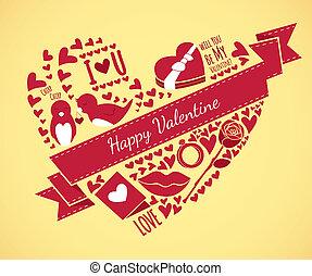 doodle, valentine