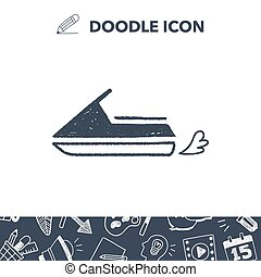 doodle water scooter