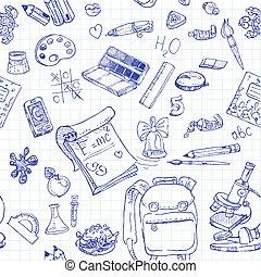 doodles, ιζβογις , 2 , seamless, πίσω