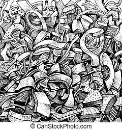 doodles, 抽象的